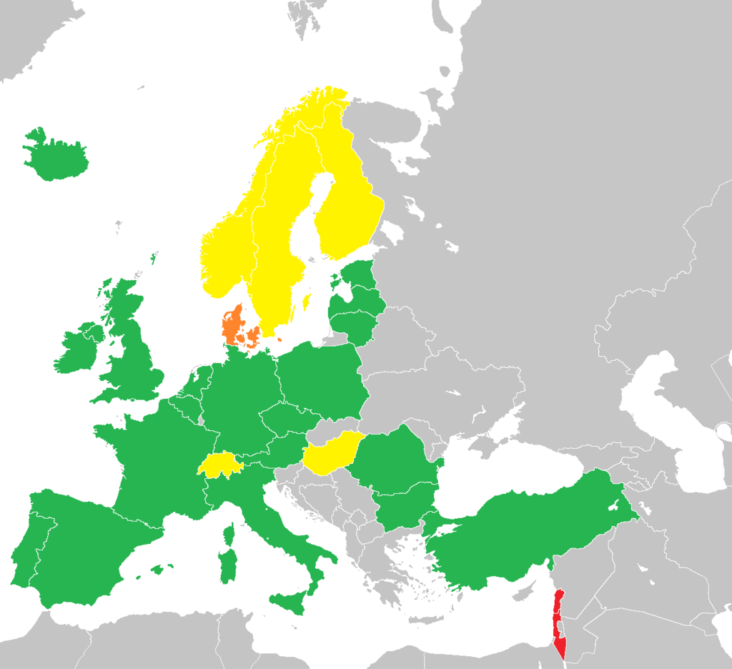 map of legal ecigarette countries europe